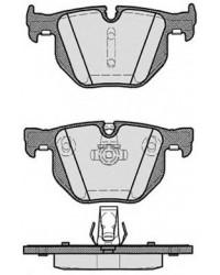 Колодки тормозные задние БМВ