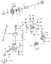 Шкив поликлинового ремня ABL VW T4