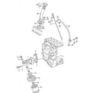 Кронштейн масляного фильтра  ABL VW T4