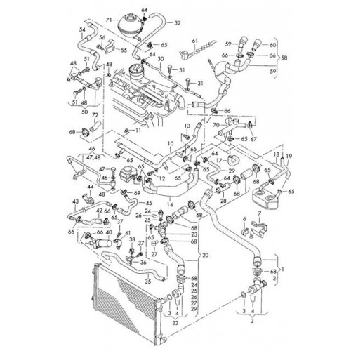 система отопления фольксваген т4