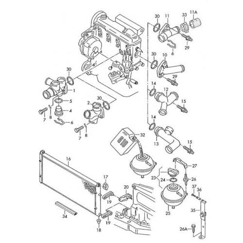 системы охлаждения VW T4