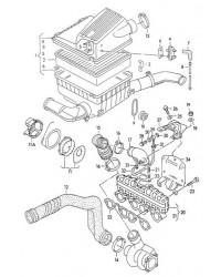 Впускной коллектор ABL VW T4