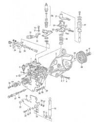 Консоль VW T4