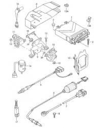 Блок управления дизелем VW T4