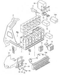 Реле для кондиционера  (140) VW T4