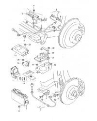 Комбинируемый датчик ускорения и скорости системы EPS VW T4