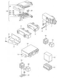 Блок управления вентилятора радиатора VW T4