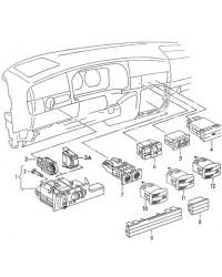 Выключатель обогрева заднего стекла VW T4