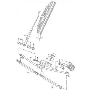 Привод стеклоочистителя (трапеция дворников) VW T4