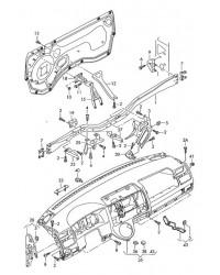 Панель приборов 1.9TD VW Transporter T5