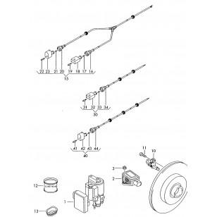 фольксваген транспортер т5 датчик абс