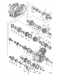 Коробка передач (кпп) 2,5 TD  65 KW VW T4